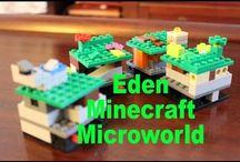LEGO Minecraft Eden World Builder