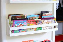 Kids book shelving