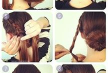 Hairdo / hair styles, easy up do