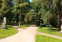 Zielone miejsca, parki w Krakowie / Wszystkie zielone przestrzenie w mieście Kraków, gdzie można odpocząć, zabrać dziecko na spacer :)