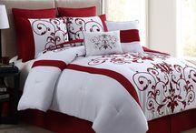 comforter/bedspread ideas / by Rhonda Burlison