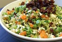 Salade en folie