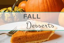 Fall Desserts / Yummy, unrefined, gluten-free Fall treats for all! A collection of personal recipes that are easy to follow, healthy, & taste absolutely decadent!