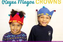 Reyes Magos / Three Kings / Wise Men / Celebrate the coming of los Reyes Magos, Three Kings with these delicious recipes, DIYs. and crafts. Include your family in these celebration and make these traditional activities.