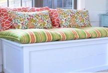 window treatments & pillows