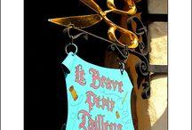 salon signs