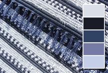 Koberečky z Oravy - modré / Rag Rugs - Blue