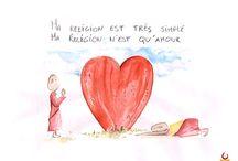 Petits bonhommes , grande sagesse / Des petites illustrations qui vous apporteront une dose de bonheur, d'amour et de spiritualité.