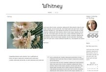 My Etsy Shop / Beautiful Blog Design für Wordpress and Blogger