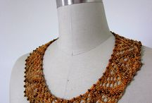 Jewelry Knitting Patterns / Who knew you could knit a necklace? / by Azalea & Rosebud Knits