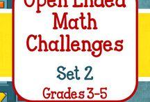 Mac's Math-mazement Board / Teaching and learning math!