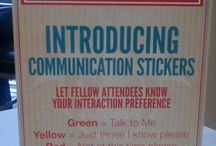 Communication Badges in Action