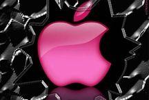 Logo apple fond d'ecran