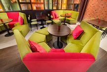Restauracja  il Basilico we Wrocławiu - Meble z firmy M&M Moebell Design / Ostatnio wykonaliśmy meble dla pizzerii na Bielanach Wrocławskich meble na wymiar.Kształty mebli zostały zaprojektowane przez naszych doświadczonych projektantów a kolory dobrane przez architekta. Zapraszamy do oglądania:)