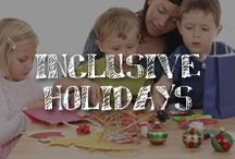 Inclusive Holidays / Together with our partners at Easterseals, A.C. Moore has collected craft ideas for parents, teachers and caregivers to inspire inclusive celebrations that families of all ages and abilities will enjoy all year long. Whether you're planning for Christmas, Mother's Day or Halloween, we have festive creative activities that are fun for all kids, including those with disabilities like autism and sensory processing disorders.