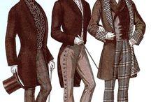Miesten pukeutuminen/historiaa!