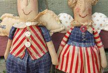 По мотивам кукол поляковой