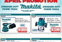 Makita MT Series April 2017 Promotions