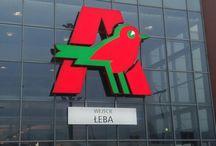 Producent reklam Toruń, Polska / Signage manufacturer Toruń, Poland