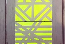 neon paint / neon