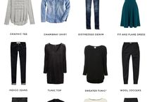 What to wear! / Clothing combinations for everyday.