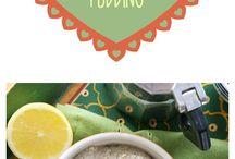 Chia puddings and shakes!