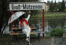 """exhibition 2011 - Lunzenau, Germany / Kurz-Ausstellung im Eisenbahnmuseum """"Zum Prellbock"""" in Lunzenau"""