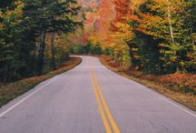 ROADS that beckons / Inviting us to just go somewhere thats not here