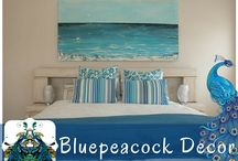 The Blue Peacock / Decor furniture and collectibles