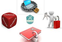 Encrypting files / Protecting your files by encrypting it.