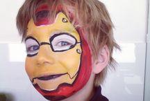 Too Tweet Designs Face Painting