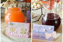 Winnie The Pooh tea party