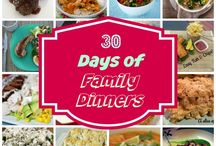 30 Days Of Family Dinners