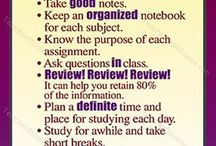 Study Skills / Study skills, tips, and tricks