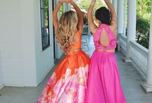 Malia and Kimberly prom
