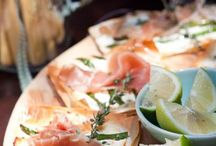 Breads, Pizzas, Tartlets / Fill up with these yummy recipes