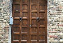 Doors / Doors of San Gimignano - Italy, Tuscany