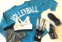Volleyball-Bows And Nike Pros