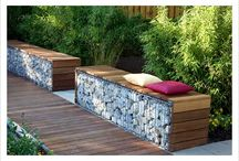 Garden Seats, Benches & Arbours / Inviting places to sit in a garden