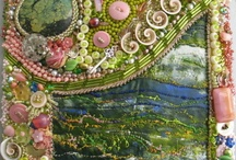 Mixed Media Art / I am all about using many different items to create art because art is, after all, not just about painting!
