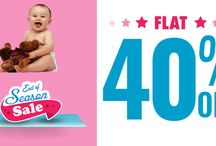 End OF Season Sale / 40% OFF on Baby Care Products at BabyOodles. Shop Now!