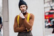 Street look fashion week london