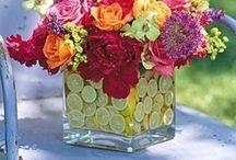floral centerpieces / by Wanda Feliciano