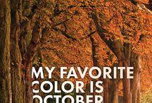 otoño octubre