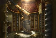 Steampunk Art Library