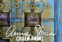 Paint effects / Effects for painting up cycled furniture