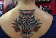 Owl Tattoos / Owl tattoos are some of the most common and most gorgeous animal tattoos that are worn by a lot of individuals in the entire world. http://fabulousdesign.net/owl-tattoos-meanings/