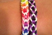 Loom bracelets / by Anke Lindenhols-Kroon