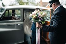 Get me to the barn on time / Love the different modes of transport our brides and grooms use to get them to the barn on time...