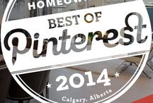 2014 Best of Pinterest / The contest is now closed. Thank you to all our very stylish homeowners for their participation!